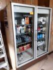Schaefer Corporation double door cooler system - 34 in d x 79 in h x 55.5 inches wide - contents not included