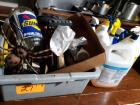 Lot of cleaners and other miscellaneous items