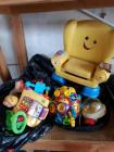 Two bags of toys including VTech Ivan Fisher Price - Etc.