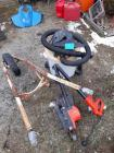 Ridgid shop vac - Black & Decker electric edger - needs repair - wheelbarrow Frame & Wheel