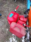 Lot of 4 - gas cans