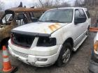 WHITE 2004 FORD EXPEDITION