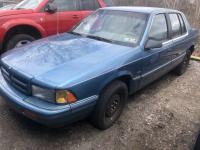 BLUE 1995 DODGE SPIRIT