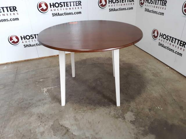 Wood 42 Inch Round Table Top With Legs 30 Inches High