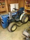 FORD 1100 TRACTOR with hitch attachments