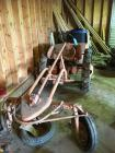 Allis chalmer Grader tractor (tractor number 011866) rusted front rim