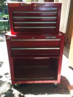 Craftsman 2 piece tool box