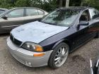 BLUE 2000 LINCOLN LS