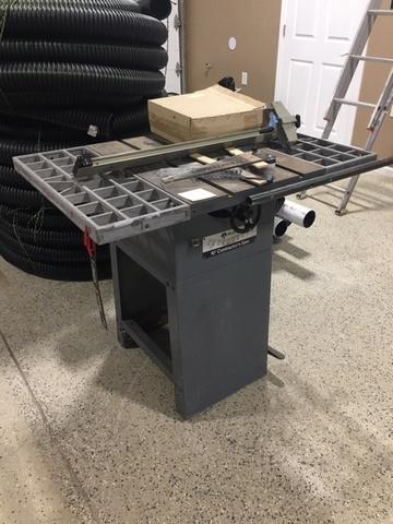 Rockwell 10in Contractors Table Saw W Parts Located At