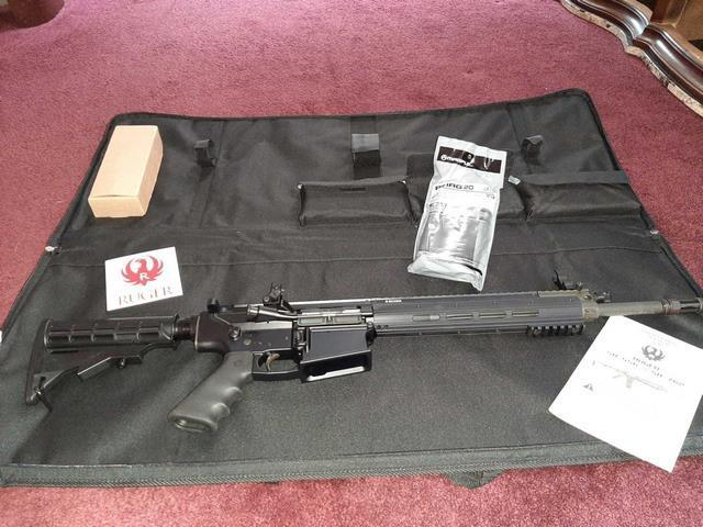 Ruger SR-762 AR10 SEMI AUTOMATIC RIFLE - BRAND NEW IN
