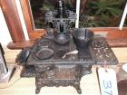 CAST IRON MINIATURE COOKSTOVE WITH ACCESSORIES