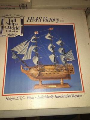 Tall ships of the world - H-M-S victory