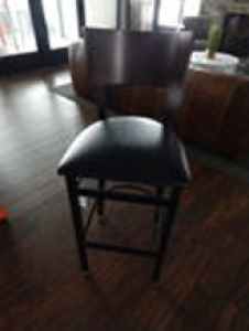 (X24) Padded High Pub Chairs 3.5' High