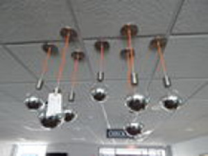 5 Sets of 7 Modern Display Fixtures (Hanging Lights)
