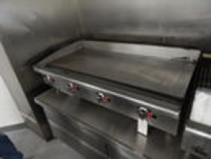 "Flat Top Griddle StarMax 4'x2'2""x1'"