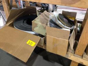 Lot of foam tape - various sizes