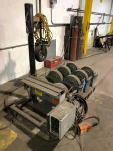 Preston-Eastin Motorized rollers - with 3 additional rollers