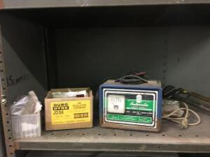 Kelsey Stuart Battery charger and air regulation hardware And hand pump