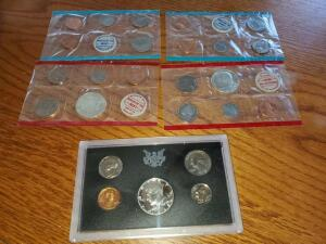 3- 1968 proof sets