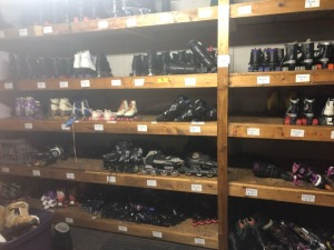 Roller Skates, Roller Blades HUGE LOT over 100 pairs, all sizes and misc. types