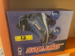 new in box youth 13 roller skates