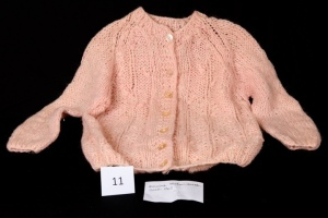 Vintage Pink Mohair Sweater circa 1960