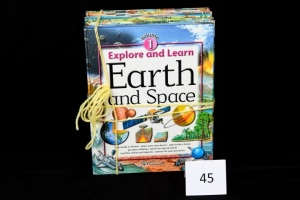Explore and Learn Series - 6 Volumes (Earth/Space, Science/Tech, Nat. World, People, Body, World Atlas)