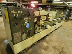 DoAll 25H lathe - digital read out - 3 phase -