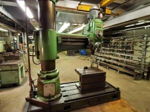 Summit radial arm drill - 5ft x 14 1/2in