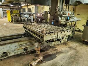 G&L horizontal boring, drilling and milling machine - 4in - SN: 6906 - Model: 340T - 41 x 62 table
