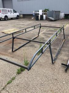 "Work truck metal rack (55""x144"")"