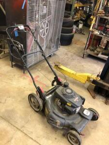 Craftsman GCV 160 push mower with ez walk - bagger