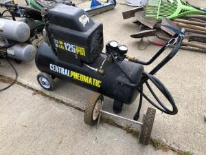 Central pneumatic compressor- 125 psi - 10 gal - 2.5hp