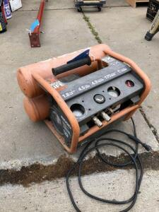 Ridgid compressor - 175 psi - 1.8 hp