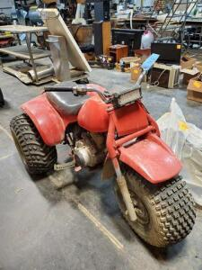 185 Honda 1983 3 wheeler - runs