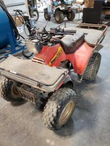 230 Suzuki - 2 wheel dr. - runs