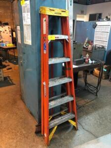 Werner Fiberglas 6ft ladder