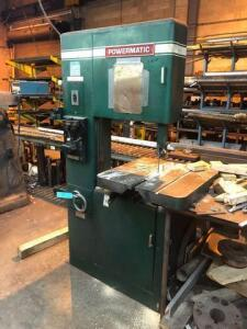 Powermatic band saw - model 87