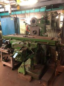 Cincinnati boring and milling machine - head disassembled