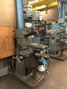 Bridgeport milling machine - model: 115786