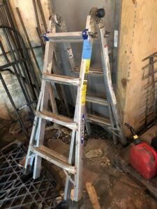 Werner multi function ladder