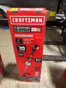 Craftsman-four cycle 30cc weed wacker with straight shaft