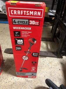 Craftsman- four cycle- 30 cc weed wacker - straight shaft