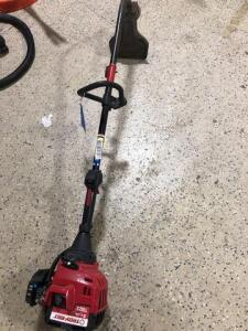 Troy Bilt -two cycle -curved shaft Weedwhacker