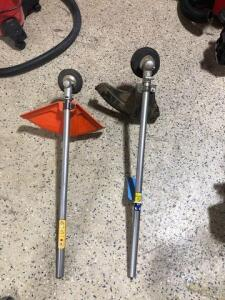 Two Straight shaft Weedwhacker attachments-Husqvarna-Craftsman