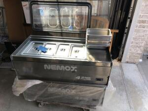 2 Nemox -Gelato cooling machines – 4 magic pro 100-made in Italy