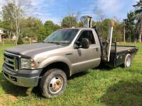 2007 FORD F350 BOOM TRUCK - Vehicles can be viewed by appointment: 724-561-9167
