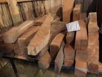 LARGE LOT OF CURLY MAPLE AND WALNUT - 4