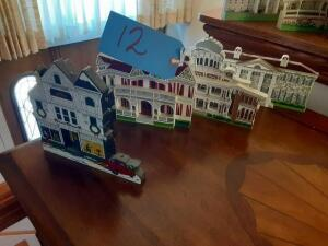 Wooden House Cutouts (4)