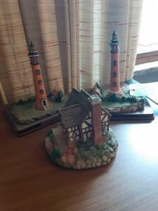 Wooden Lighthouse Point Collection (3)